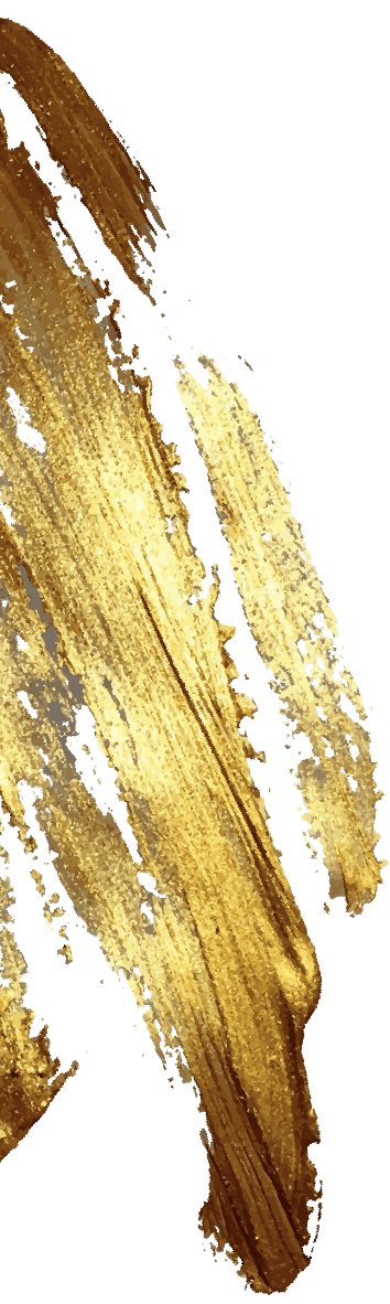 Gold smudge